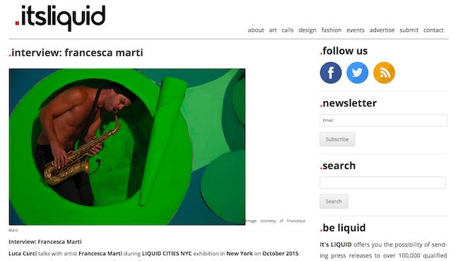 its liquid marti